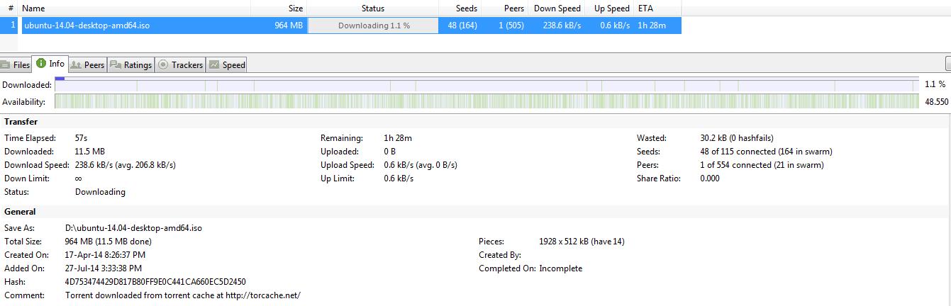 seed after download torrent wont