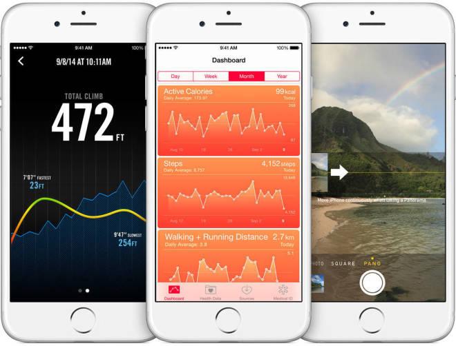 iPhone 6 sensors