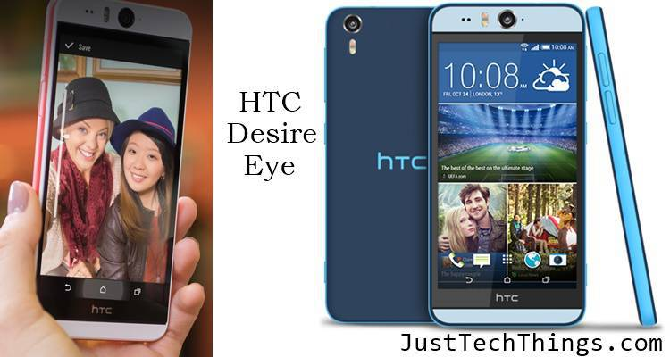 Desire eye with dual 13MP camera