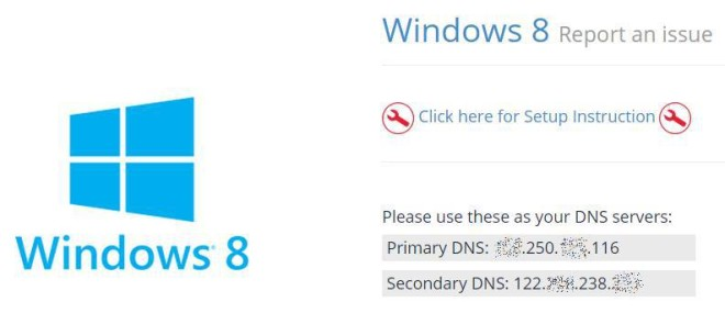 windows8 dns by UnoTelly