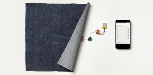 Interactive clothing by Google and Levi's