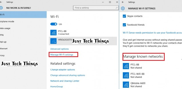 How to forget saved internet connection in windows 10?